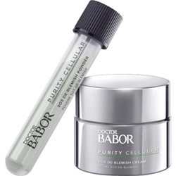 Imagen de BABOR PURITY CELLULAR SOS De-Blemish Cream Kit 50ml + Polvo 5g