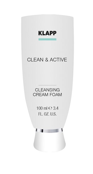 Picture of KLAPP Clean&Active Cleansing Cream Foam 100ml