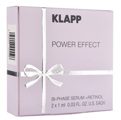 Изображение KLAPP Power Effect Bi-Phase + Retinol 2x1ml