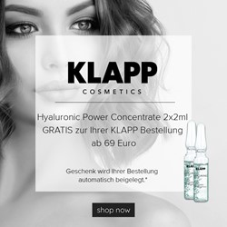 Picture of Beauty Deal: Klapp Hyaluronic Power Concentrate 2x2ml
