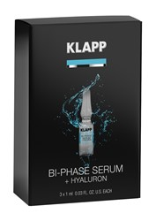 Photo de KLAPP Power Effect Bi-Phase Serum + Hyaluron Set 3x1ml