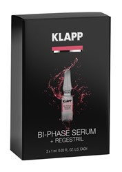 Photo de KLAPP Power Effect Bi-Phase Serum + Regestril Set 3x1ml
