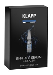 Photo de KLAPP Power-Effect Bi-Phase Serum + Oxygen 3x1ml