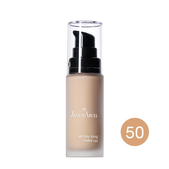 Picture of Jean D'Arcel all day long make up no.50 nude beige, 30ml