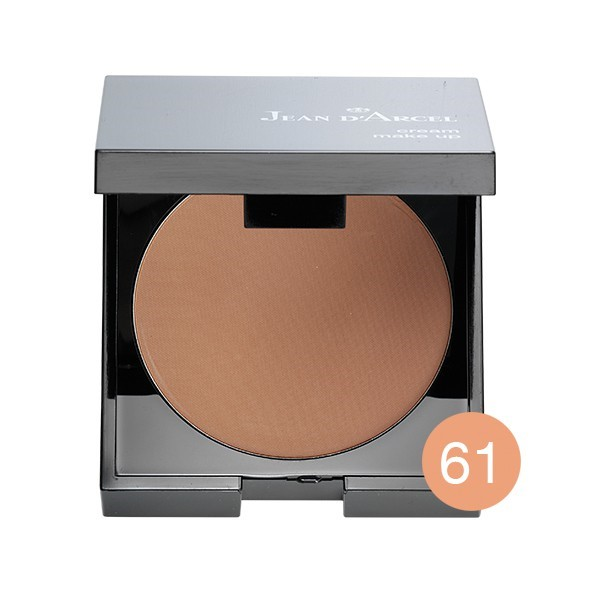 Imagen de Jean D'Arcel Cream Make up no.61 Dark beige, 9g