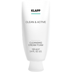 Afbeelding van KLAPP Clean&Active Cleansing Cream Foam 100ml