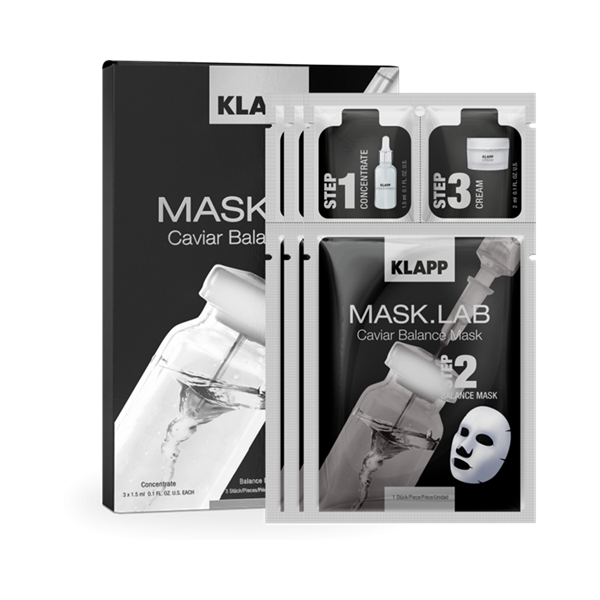 Picture of KLAPP Mask.Lab Caviar Balance Mask 3tlg.