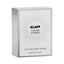 Imagen de Klapp Caviar Power Eye Care Liquid Serum Sondergröße 5ml